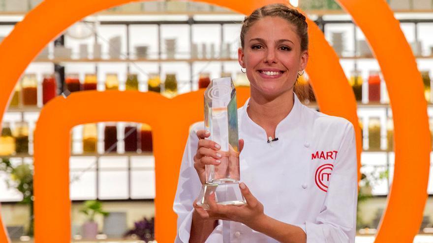 Marta, ganadora de MasterChef 6