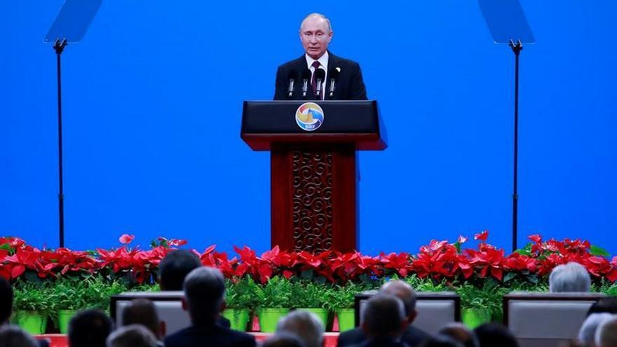 Putin dice que la Franja y la Ruta sirve de escudo contra las guerras comerciales