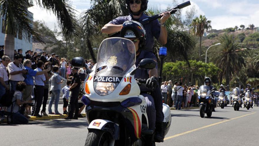Del acto del Día de la Policía #2
