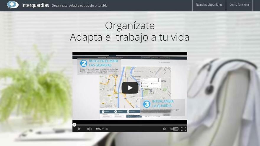 Imagen de la portada de la web creada por el médico onubense.