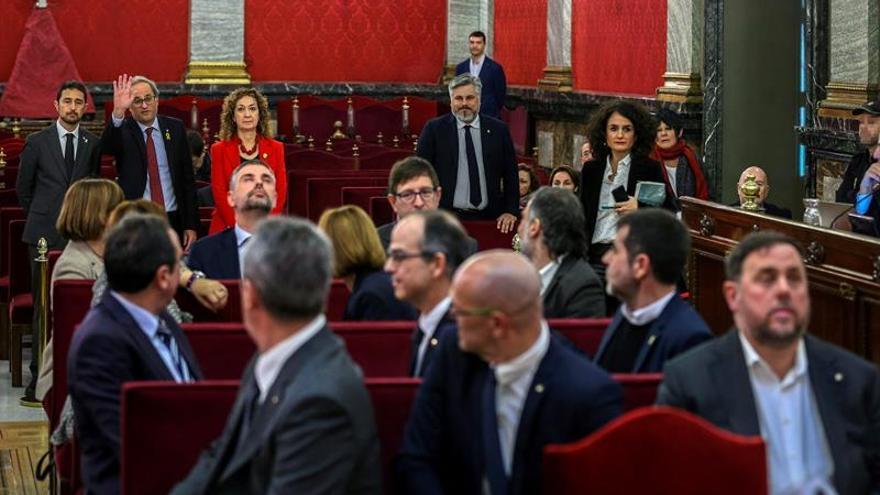 """El Supremo reanuda el juicio del """"procés"""": el turno de las acusaciones"""