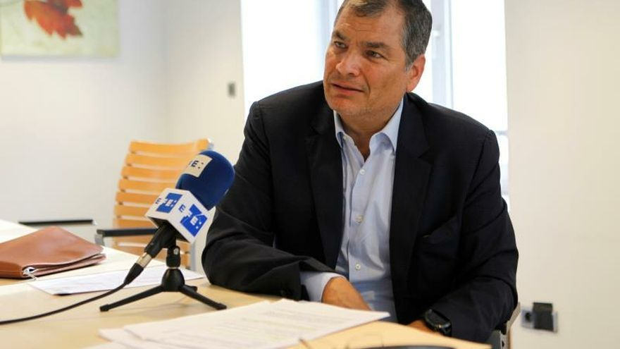 """La Procuraduría de Ecuador acusó a Correa por crear """"esquema de corrupción"""""""
