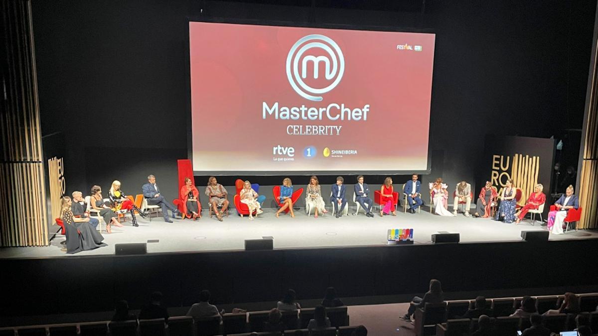 Presentación de 'MasterChef Celebrity 6'