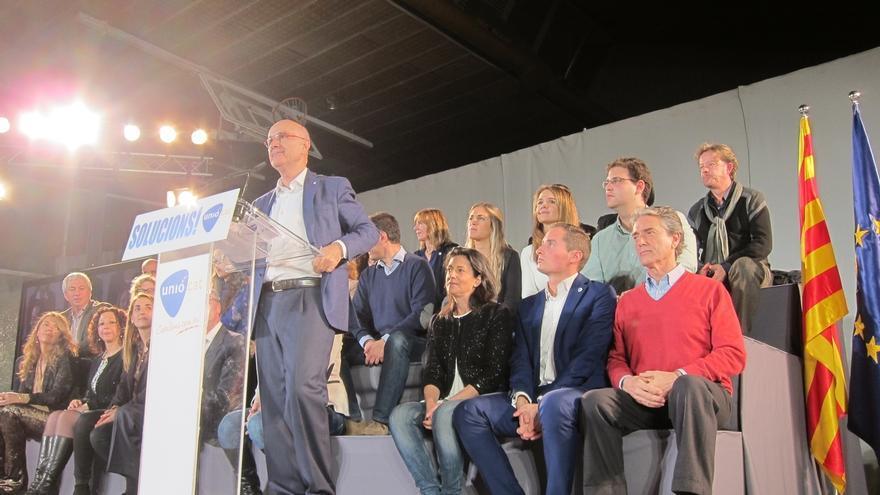 Duran (Unió) pide el voto para reconstruir el catalanismo y tender puentes con el Estado