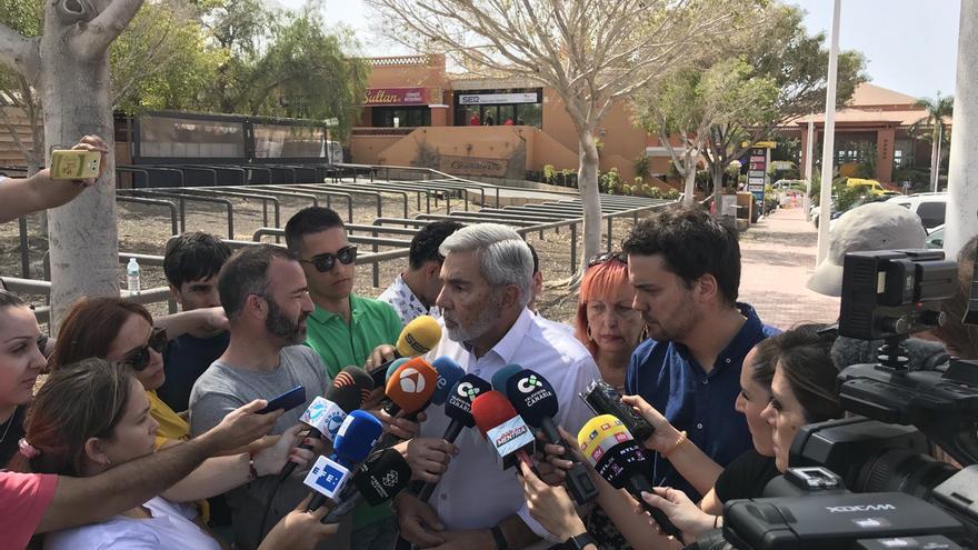 José Miguel Rodríguez Fraga, alcalde de Adeje, municipio tinerfeño donde se ha aislado un hotel por casos de coronavirus
