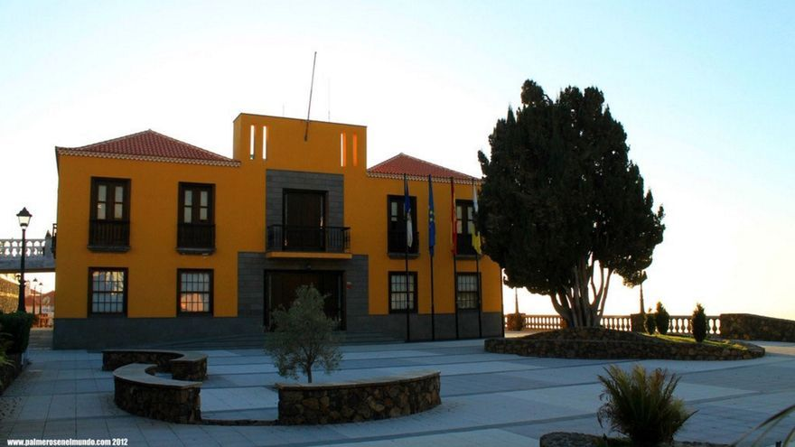 Ayuntamiento de Tijarafe. Foto: palmerosenelmundo.com