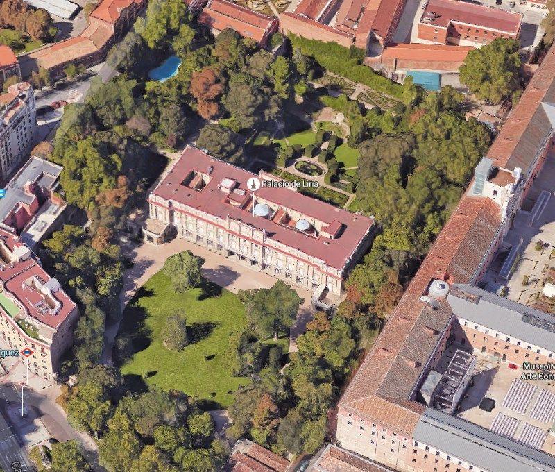 Jardines y palacio de Liria, de la Casa de Alba | GMAPS