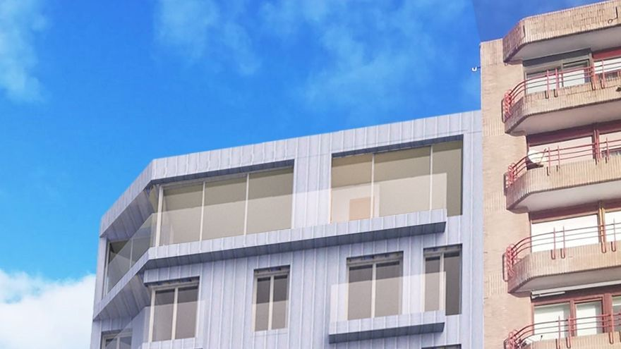 Ayuntamiento concede licencia para levantar un edificio con 13 viviendas en Reina Victoria