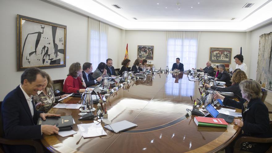 Reunión del Consejo de Ministros del pasado 15 de febrero.