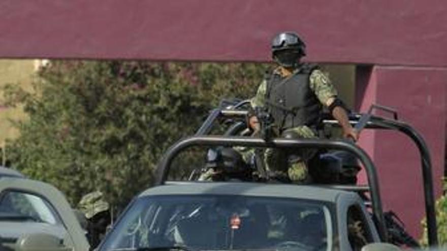Efectivos del ejército de México. (EUROPA PRESS)