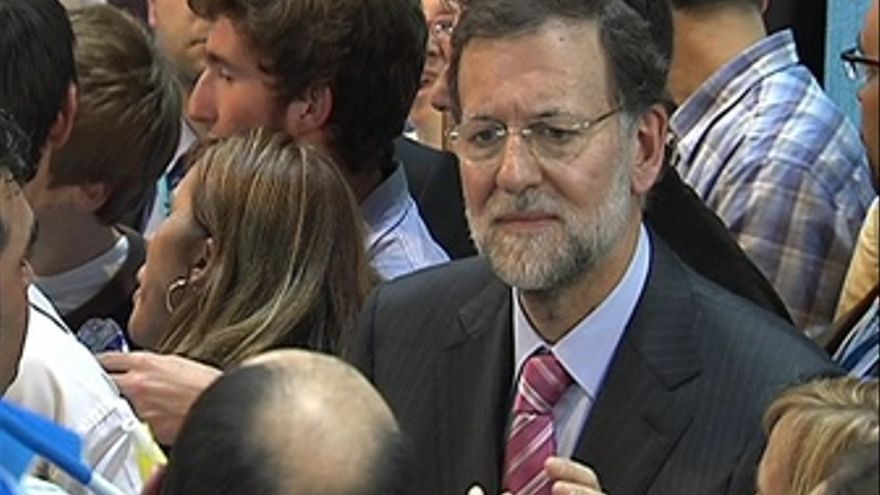 Rajoy inicia la campaña en Castelldefels