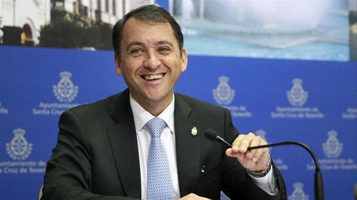 El alcalde de Santa Cruz de Tenerife, José Manuel Bermúdez.