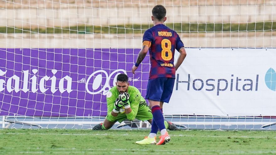 El teguestero Samu Pérez renueva con el Real Valladolid