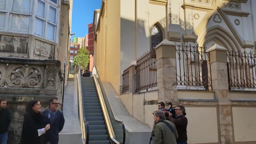 Concluyen las obras de movilidad vertical desde el Paseo Pereda a General Dávila con el tramo desde Sol