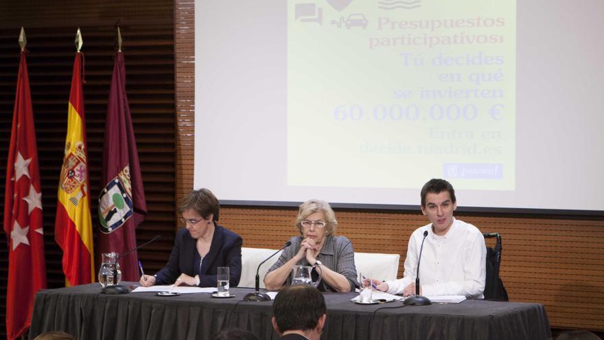 Presentación de los presupuestos participativos