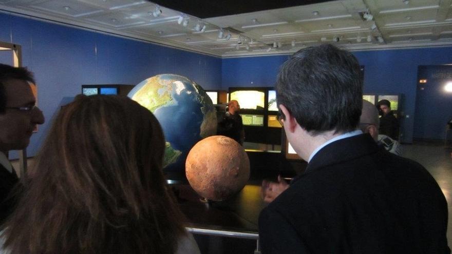 El Planetario acoge una exposición comparativa entre Marte y la Tierra