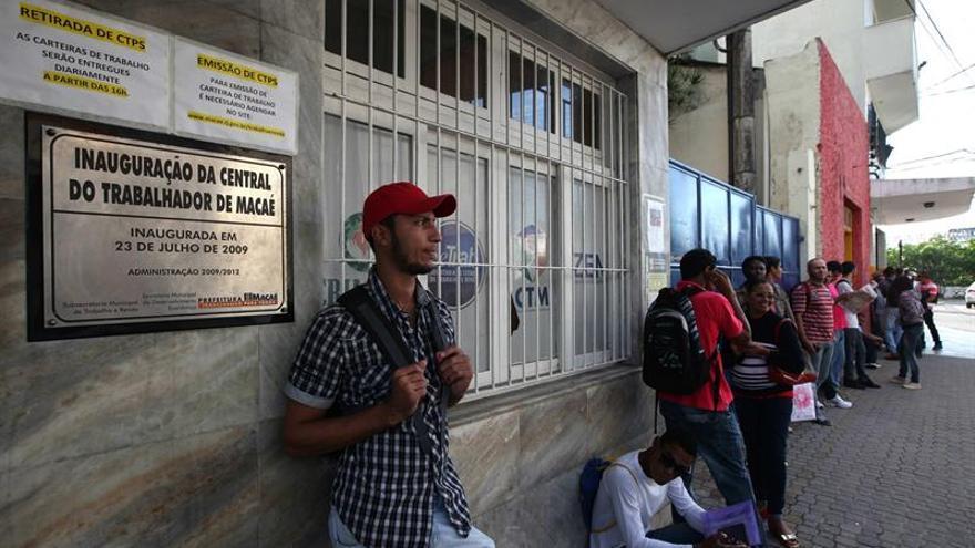 El desempleo en Brasil llega al récord de 11,3 % en el segundo trimestre del año