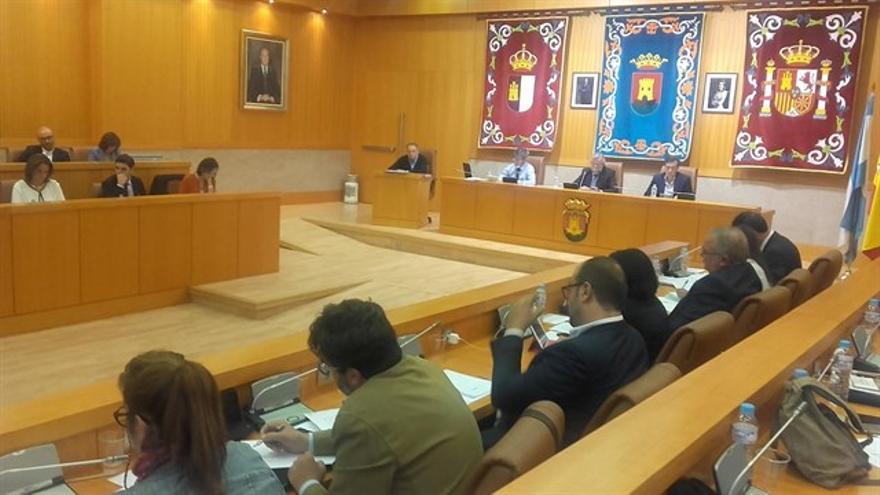 Pleno del Ayuntamiento de Talavera FOTO: Archivo Europa Press