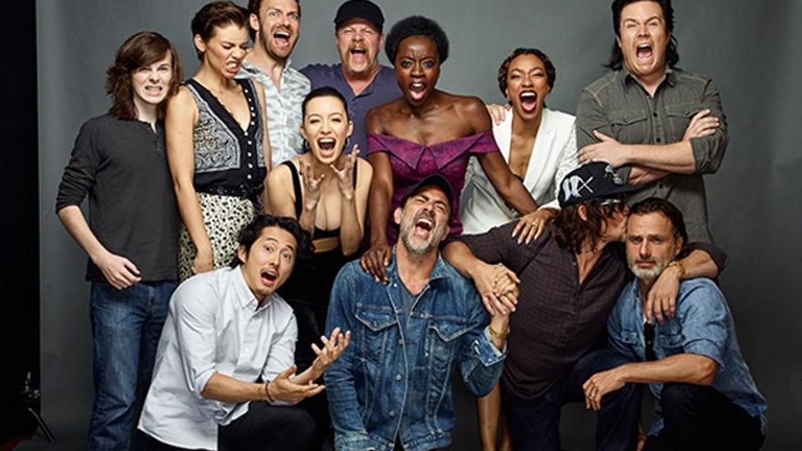 Los protagonistas de 'The Walking Dead' se 'vengan' de Negan
