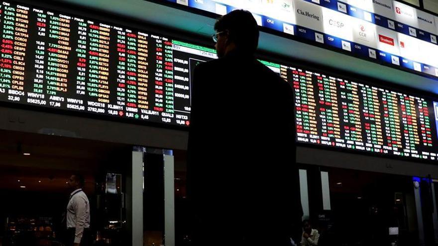La Bolsa de Sao Paulo abre con una subida de un 1,11 por ciento