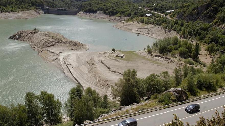 Las cuencas españolas están al 47,9 % de su capacidad de agua