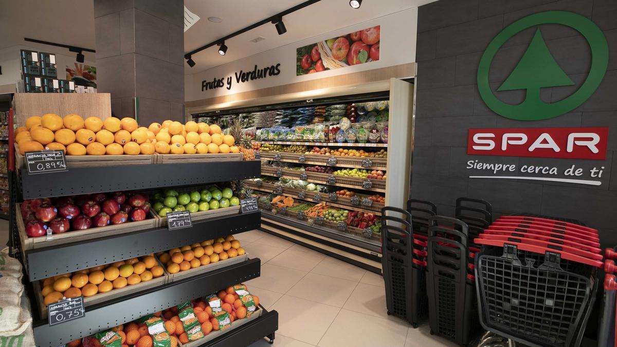 Supermercado de SPAR Gran Canaria.
