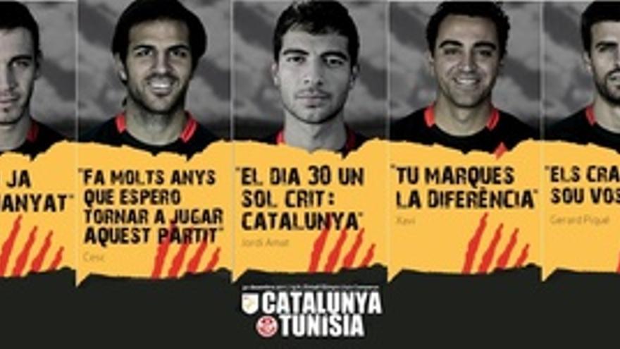 Anuncios Catalunya-Túnez