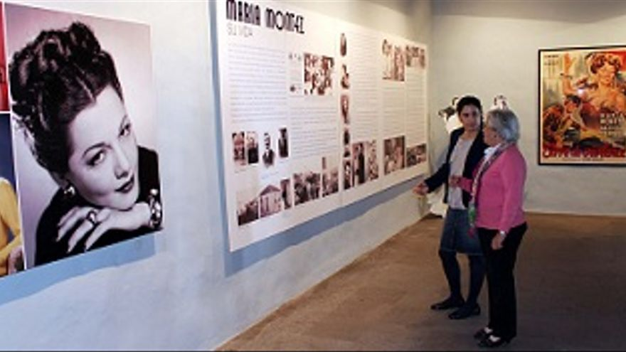 La Casa Salazar acoge la muestra de María Montez