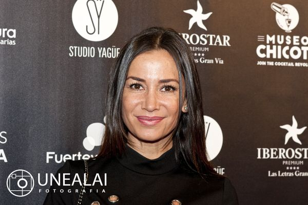 Cecilia Gómez en los III Premios Chicote | Fotografía: UNEALAI