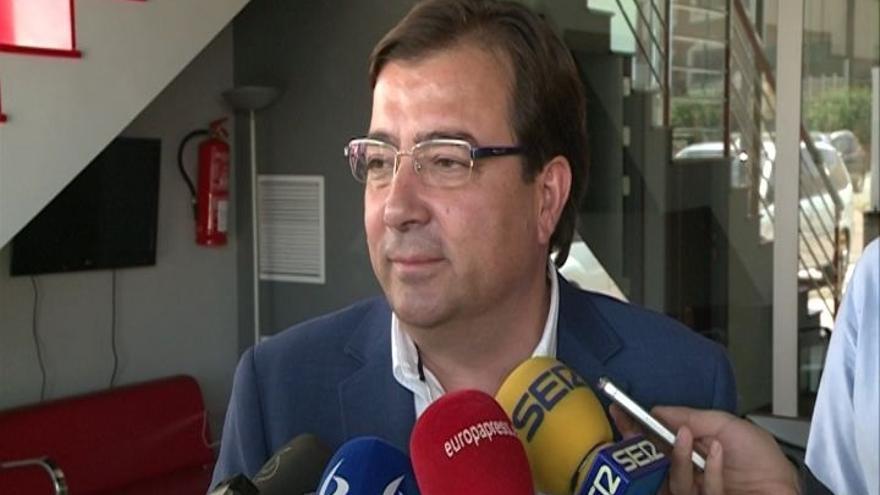 """Vara destaca que el PSOE de Extremadura ha sido """"el único partido de España"""" que supera el 40% de votos"""