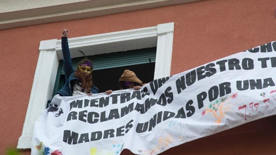 Algunas de las mujeres que han pasado a vivir en el edificio ocupado   Dani Gago / DISO Press