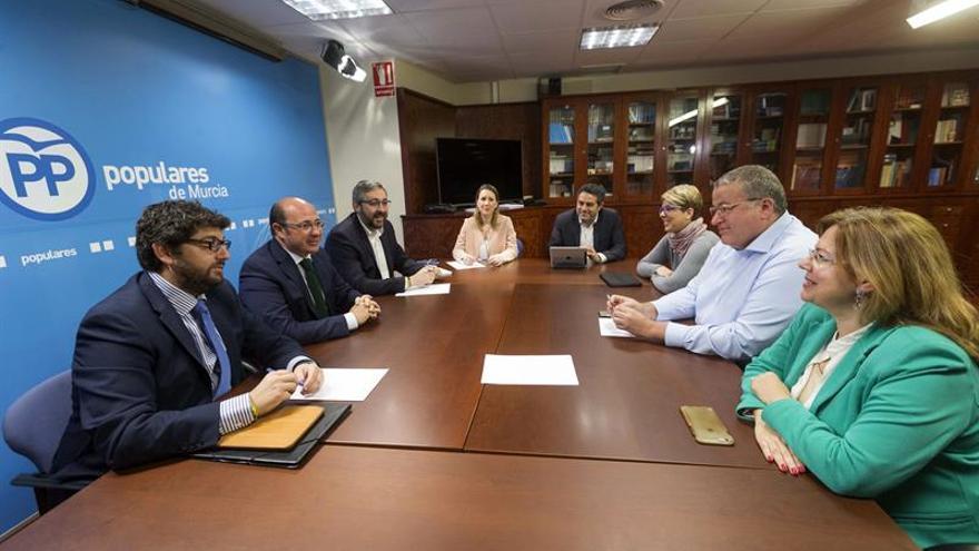 Martínez-Maillo preside la junta directiva del PP de Murcia esta mañana