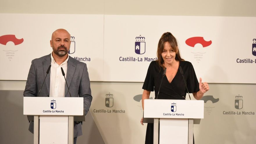 José García Molina e Inmaculada Herranz. FOTO: JCCM