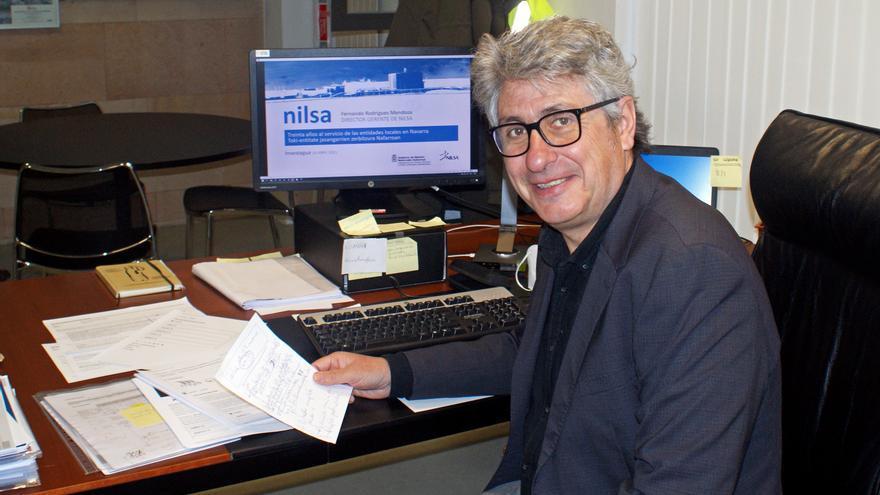 El gerente de NILSA, Fernando Mendoza, durante su intervención en el foro virtual Investagua