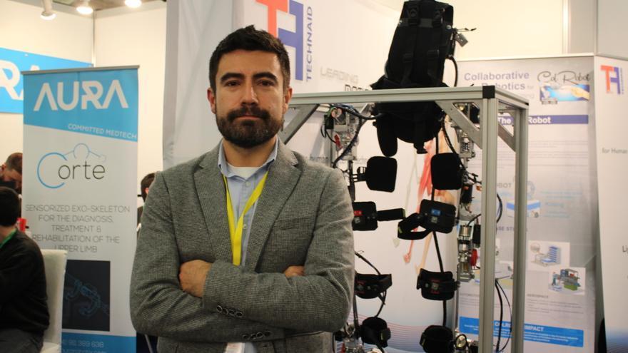Juan C. Moreno ha coordinado el proyecto internacional para crear un avanzado exoesqueleto