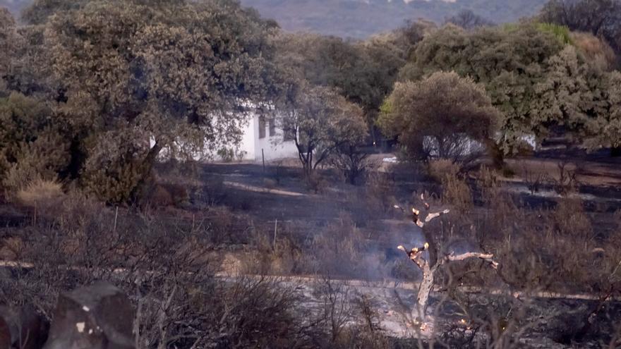 Estabilizado incendio de El Ronquillo (Sevilla) que obligó a activar nivel 1