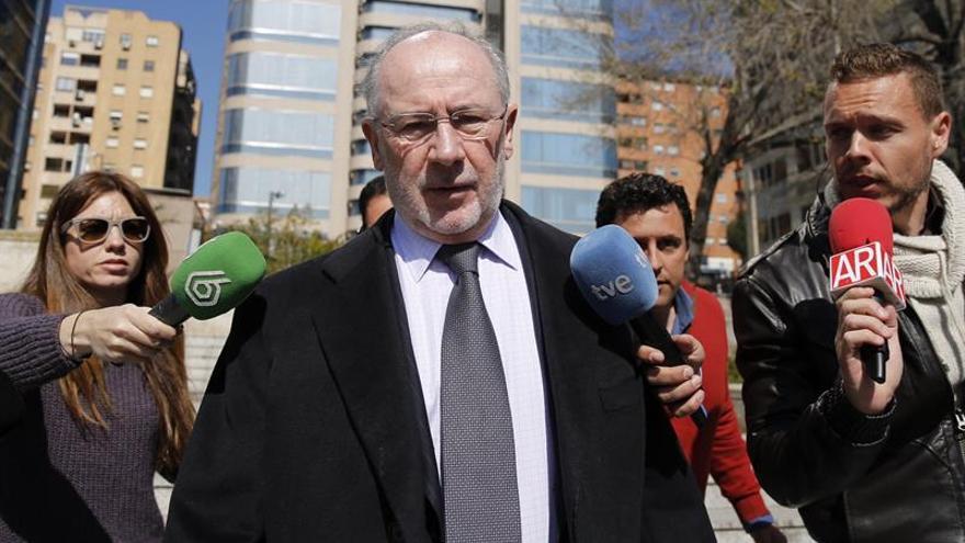 Rato niega que se reuniera con Iñaki Urdangarin en la Zarzuela