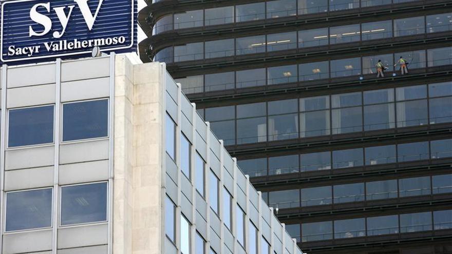 Sacyr gana 30 millones de euros hasta marzo, el 7,2 por ciento más