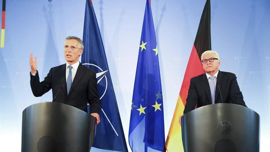 La OTAN y Alemania insisten en dialogar con Rusia por el bien de seguridad común