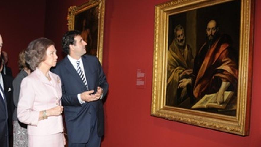 La Reina Degusta Las Joyas Rusas Con 'El Hermitage En El Prado'