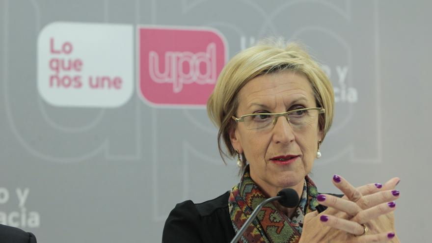 """Rosa Díez exige a Rajoy que deje de """"tomar el pelo"""" a la gente y dice que sin """"sinceridad y autocrítica"""" no habrá pactos"""