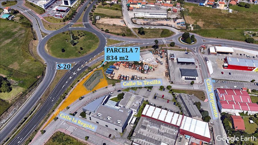 Ubicación del Centro de Empresas en La Albericia, que se financiará en parte con fondos Feder-Edusi.   ADL SANTANDER