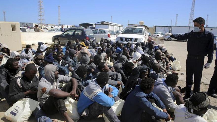 La Guardia costera libia rescata a 1.450 inmigrantes en las últimas 48 horas