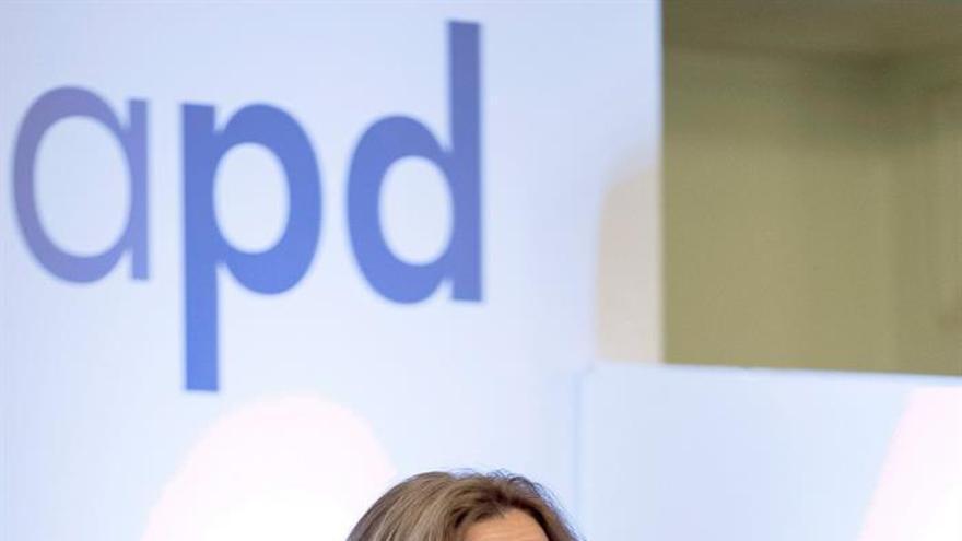 La consejera de Hacienda del Gobierno canario, Rosa Dávila, participa en el foro organizado en Las Palmas de Gran Canaria por la Asociación para el Progreso de la Dirección.