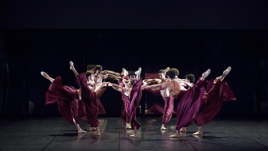 Coreografía de 'Samsara', una de las piezas de '30 años de danza'