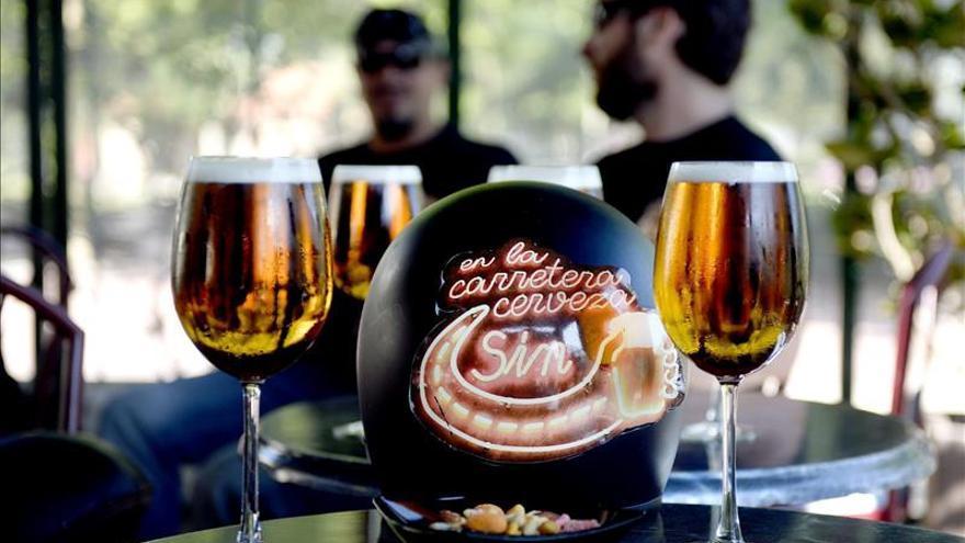 """Los moteros """"Sin Riders"""" hacen de la lucha contra el alcohol una aventura"""