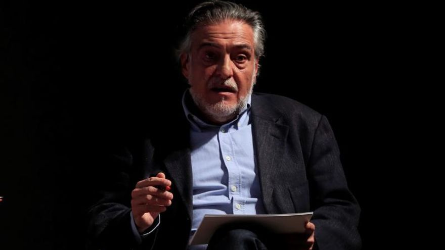 El candidato del PSOE al Ayuntamiento de Madrid, Pepu Hernández.