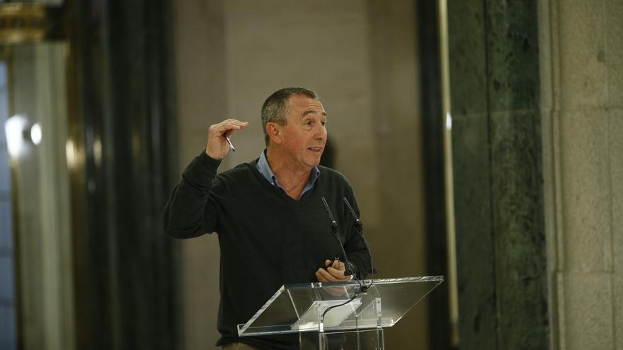 """Baldoví (Compromís) alaba al """"valiente"""" exportavoz de Cs en las Cortes Valencianas por oponerse a los PGE de 2017"""