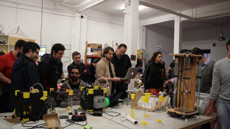 El Makespace es un proyecto que lleva dos años uniendo a los 'cacharreros' madrileños