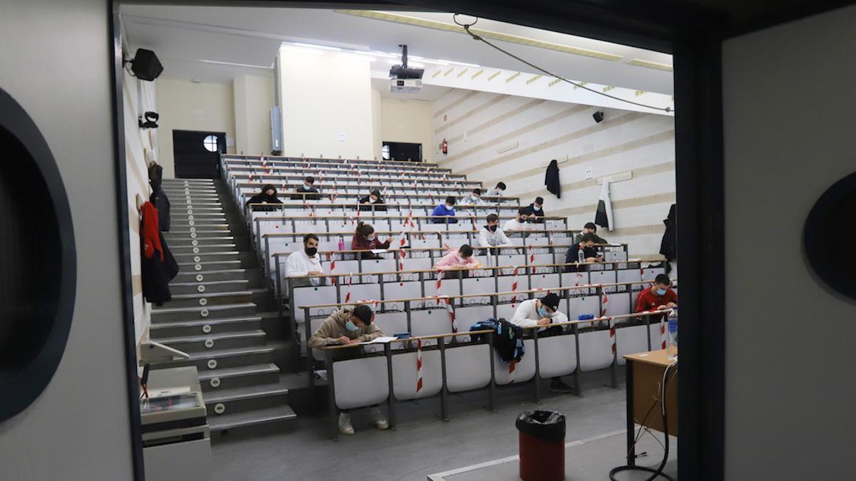 Un aula en Rabanales